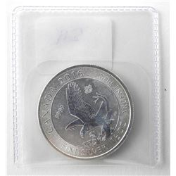 .9999 Fine Silver 'Fly Hawk' 2.00 Coin
