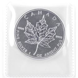 2012 .9999 Fine Silver $5.00 Coin 'Maple Leaf'