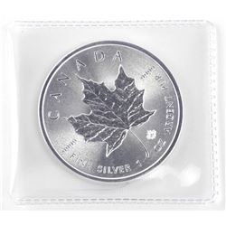 2016 .9999 Fine Silver $5.00 Coin 'Maple Leaf'