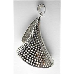 Estate 925 Sterling Silver Pendant Bead Set with Swarovski Elements