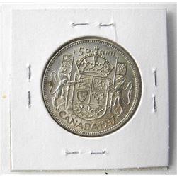 1937 Canada 50 Cent (AU)