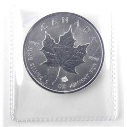 2016 9.9 Fine Silver $5.00 Coin Maple Leaf.