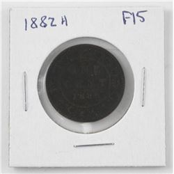 1882H Canada One Cent (F15) (CE)
