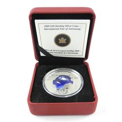 2009 925 Silver Coin Year of the Astronomy AR.