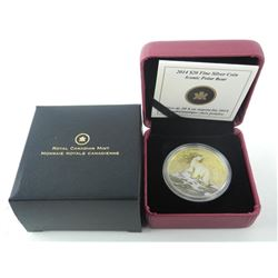 RCM .9999 Fine Silver $20.00 Coin 'Iconic Polar Be
