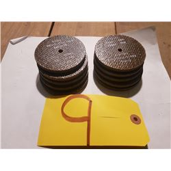 "Radias Buffing/Sanding Disc 3""x1/4""x1/4"""