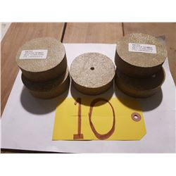 "KETO Scotch-Brite Buffing/Sanding Disc 3""x1""x1/4"""