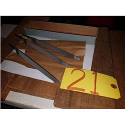 "Triangular Files 8"""