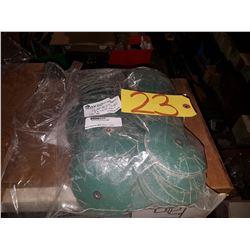 """Bag (100) Abrasives Overlap Slotted Disc 4""""x1/4-20 Gr.80"""