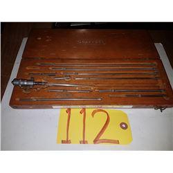 "Starrett No.124 Inside Micrometer Set 2""-12"""