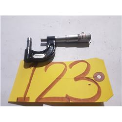 STARRETT NO.569AXP TUBE MICROMETER CARBIDE .001
