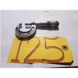 "Starrett No.436 Micrometer 0-1"""