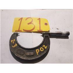"Starrett No.436 Point Micrometer 2""-3"""