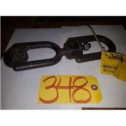 Swivel Heavy-Duty Hoist Ring Schackle 2500lbs