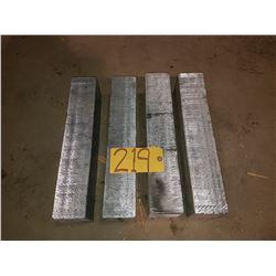 """Aluminum Bloc 16""""x3""""1/8 x3""""3/4"""