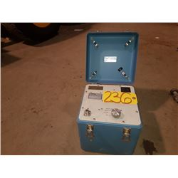 Loral Conic Bit Test Box