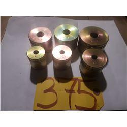 """Dimple Die Standard SET 1/2""""- 3/4""""- 1""""- 1""""1/4- 1""""1/2- 1""""3/4"""