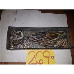 Box of Tap & Die