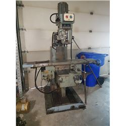 """TOS Milling Machine / Table 65""""x11""""1/2"""