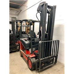 Linde E25C-600 Electric Fork Lift 3150lbs(no battery & Charger)