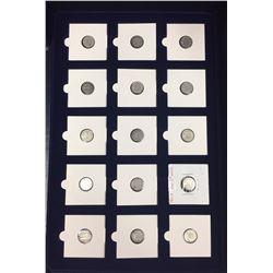 Canada Nickel Collection - 2 cases - 1870 - 2010