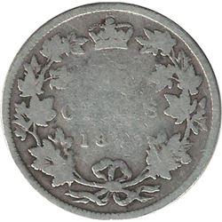 Canada 1893 Silver 25 Cent Filler Better Date
