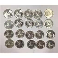 Canada 1967 Silver Dollars (20 pcs)