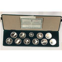 Canada 1988 Calgary Olympic Coin Set.