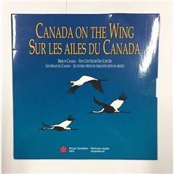 Canada 1995 50 Cent Birds of Canada Two Coin Set