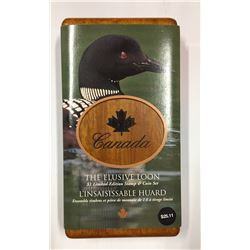 Canada 2004 $1 Limited-Edition Stamp & Coin Set. Elusive Loon