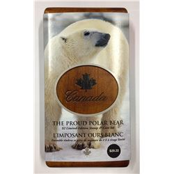 Canada 2004 $2 Limited-Edition Stamp & Coin Set. The Proud Polar Bear