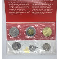 Canada 2016 Proof Like Set With 2015 Loonie Error