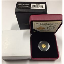 Canada 2017 25 Cent Predator Vs. Prey: Traditional Arctic Fox Gold Coin