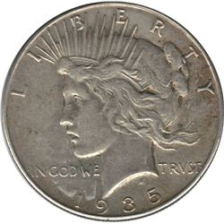 United States 1935 Silver Peace Dollar EF