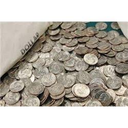 "Bag of 2 Total EISENHOWER ""IKE"" US Dollars Assorted Dates"