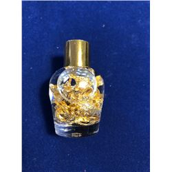GOLD Vial Filled with Flakes and Pieces