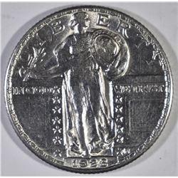 1928 STANDING LIBERTY QUARTER, CH BU