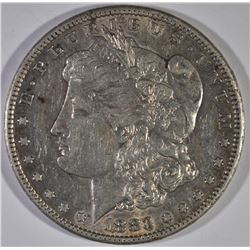 1883-CC MORGAN DOLLAR, AU+