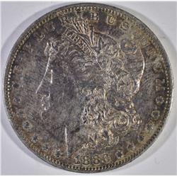 1880-O MORGAN DOLLAR, AU/BU