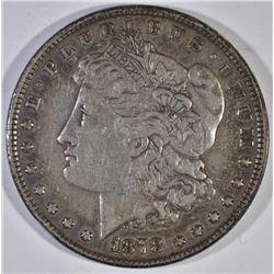 1878 7TF MORGAN DOLLAR, XF