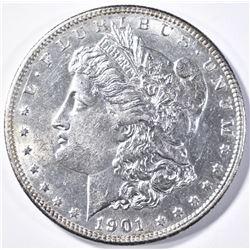 1901-S MORGAN DOLLAR  CH BU+