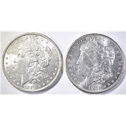 1889 & 1902-O CH BU MORGAN DOLLAR