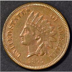 1877 INDIAN CENT GEM PROOF RB