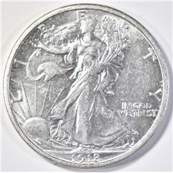 1918-S WALKING LIBERTY HALF DOLLAR BU