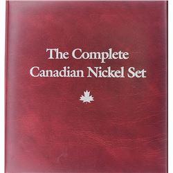 1922-1987 CANADA NICKEL COLLECTION IN ALBUM