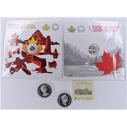 CANADA MODERN SILVER PROOF COINS