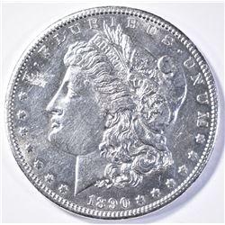 1890-CC MORGAN DOLLAR  CH BU  SEMI-PL
