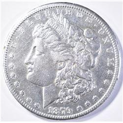 1879-CC MORGAN DOLLAR  XF/AU  KEY DATE