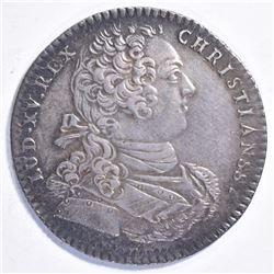 1737 LOUIS XV SILVER MEDAL