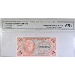 SERIES 641 MILITARY PAYMENT CERTIFICATE